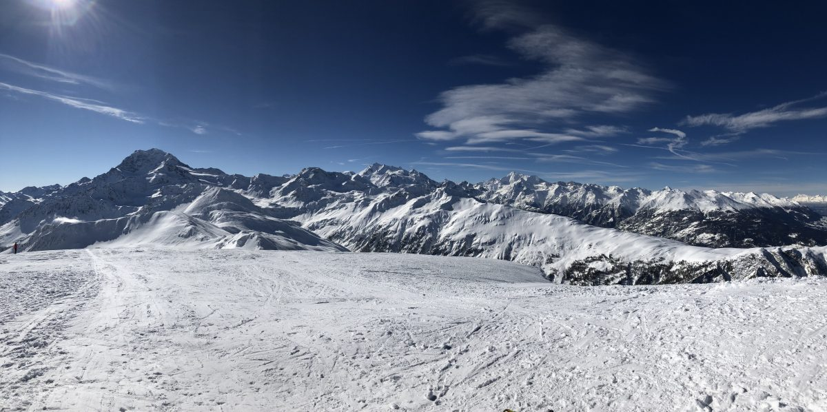 Panorama depuis le sommet du Spitzhorli.