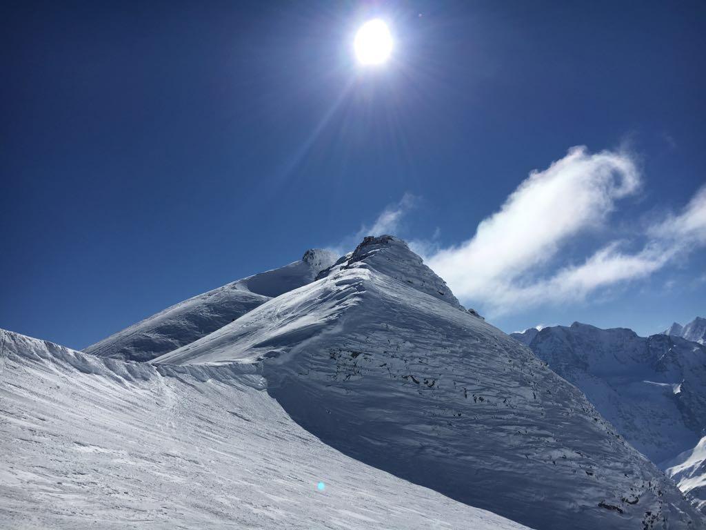 Sommet du Breithorn (3437 mètres)