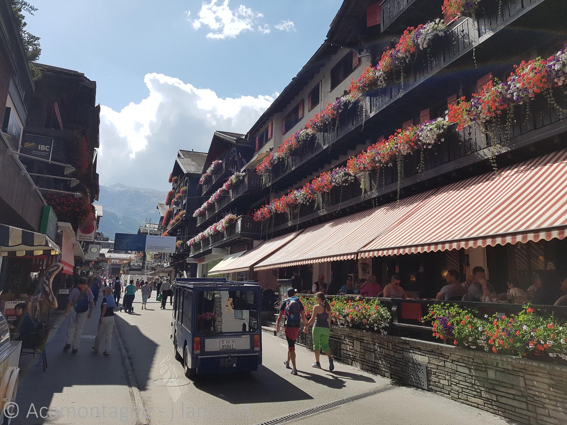 Zermatt en été